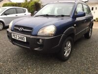Hyundai Tucson 4x4 crtd cdx excellent jeep fully serviced full years mot cookstown