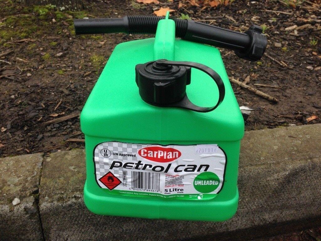 Petrol Can 5 litres