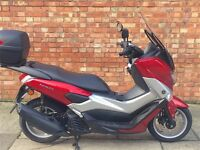 Yamaha NMAX 125 ABS, AS NEW. LOW MILEAGES!!