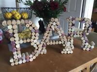 BAR Cork Sign Wedding Decor