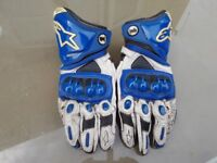 Alpinestars GP Pro size L leather gloves