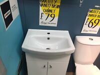 Brand new sink and unit