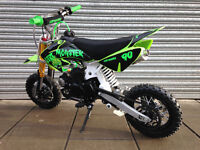 90cc PIT BIKE SEMI AUTO PIT BIKE DIRT MONSTER 90 NEW 2017 MODEL