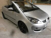 2007 MITSUBISHI COLT CABRIOLET 1.5 TURBO CZC 2DOOR, VERY LOW MILES, SERVICE HISTORY, HPI CLEAR