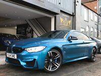 2014 BMW M4 3.0 2dr (start/stop) HUGE SPEC - SAT NAV+ 360 CAMERA + SUN ROOF