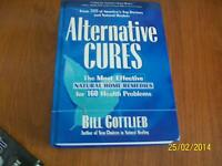 ALTERNATIVE CURES /Hard cover