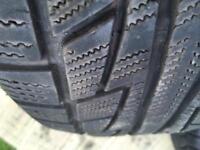 Vw T5 pair of winter tyres