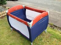 Free travel cot for collection