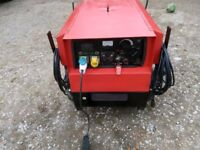 GENERATOR WELDER MOSA 200AMP 4 KVA 240/110 VOLT 20 HRS ON NEW 420 PETROL ENGINE ELECTRIC START