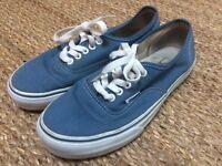 Vans 'Authentic' Skate Shoes Trainers - US8 - UK7 - Unisex