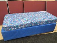 SINGLE BED BASE WITH MATTRESS FREE DELIVERY IN LIVERPOOL