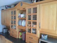 Solid maple kitchen