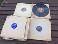 "40 x Vintage Shellac 78rpm 10"" Records"