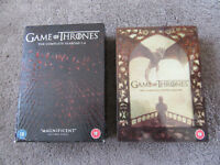 Game of Thrones Series 1 2 3 4 and Series 5 Two Boxed Sets