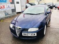 ALFA ROMEO GT 1.9 DIESEL MANUAL COUPE BLUE 2007 LEATHER PARKING SENSORS 150BHP