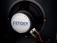 Fender champ 600 speaker and amp casing. Project