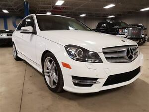 2013 Mercedes-Benz C-Class C 300 4MATIC, Sunroof, Bluetooth, USB