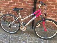 "Ladies 16"" Optima bike bicycle inc Free lights & delivery. D lock available"
