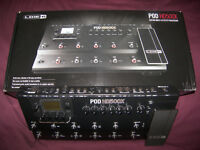 Line 6 POD HD500X - Multi-Effects Processor & Amp Emulator for Guitar , Bass and Vocal. / As New