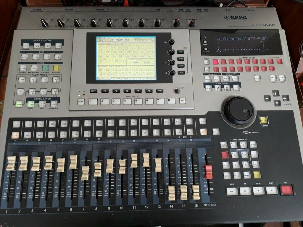 yamaha aw4416 16 track digital recording desk and mixer in willenhall west midlands gumtree. Black Bedroom Furniture Sets. Home Design Ideas
