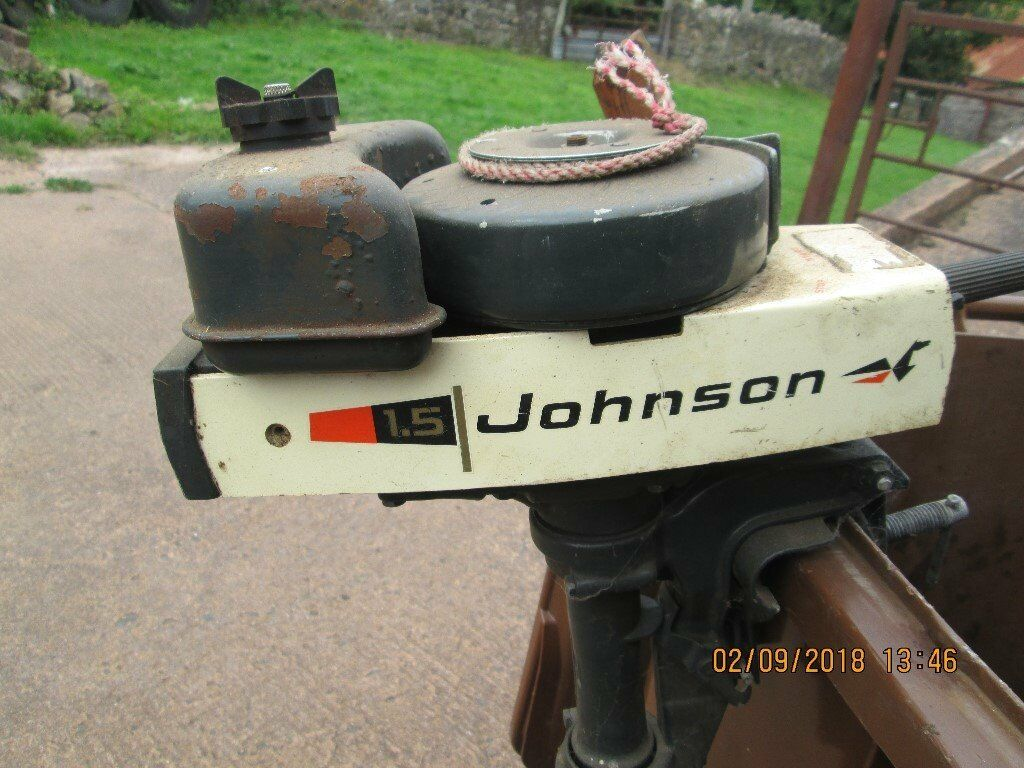 Johnson Outboard Motor 1 5 Spares Or Repair