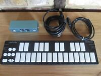 Keith Mcmillen QuNexus Keyboard + Keith Mcmillen Midi Expander