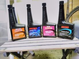 Mixed Quantity of Fortron automotive fuel and engine additives