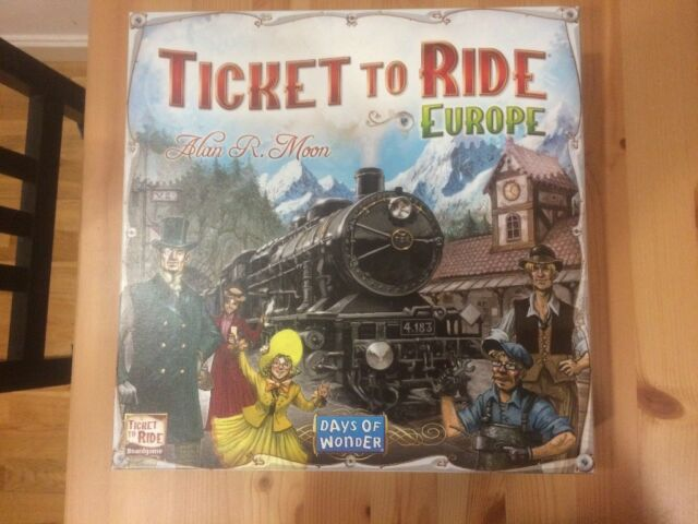 Ticket To Ride Europe Board Game In Leeds City Centre West Yorkshire Gumtree