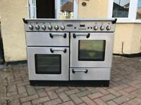 Rangemaster 110 Professional Gas Range Cooker with Elica hood