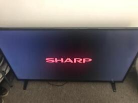 "49"" sharp aquos smart tv READ AD"