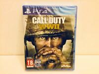 Call of Duty WWII PS4 (brand new / sealed)