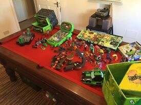 BEN 10 JOB LOT USED BUT GOOD CONDITION TOYS