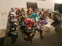 Disney infinity figures & Gamepad