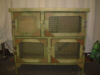brand new 3ft 2 tier rabbit/guinea pig hutch in green