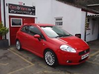 2008 Fiat Grande Punto 1.4 T-Jet Sporting 3dr JUST BEEN FULLY SERVICED