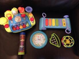 6 Baby/Toddler Music Toys