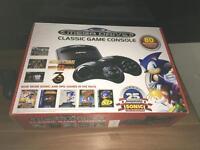 Sega megadrive with 80 installed games brand new sealed