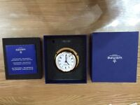 Wempe Chronometer - Yacht Ship Clock Pirate II Brass 96mm roman numerals
