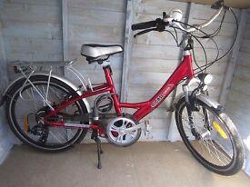 AXCESS 'Exmoor' electric bike.