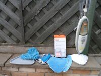 VAX S2S-1 HARD FLOOR PRO STEAM CLEANER 1600W & EXTRAS + NEW PADS