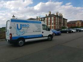 Pressure cleaning business and van