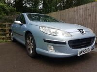Peugeot 407 2l HDI X-LINE 8 Months MOT, Fully serviced 6 months ago - Clean and ready to go!