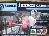 new unused 2 bike carrier