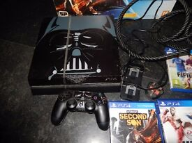 PLAY STATION 4 BOXED CHARGER CONTROLLER ALL LEADS
