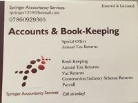 Do you require your Self Assessment, Book-Keeping, Accounting Services at very low rates