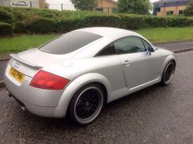 "Audi TT 1.8 225bhp Quattro, 19"" DEEP DISH ALLOYS, Carbon Air Box, Cambelt changed, Drives very well!"