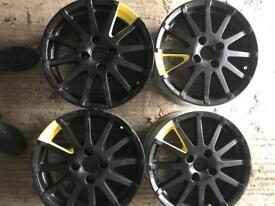 Ford Fiesta focus ka alloy wheels 4x108