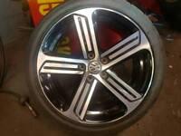 GENUINE VW GOLF R ALLOY X1