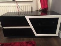 Black and White TV cabinet