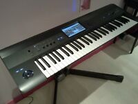 Synthesizer: Korg Krome 61 key synth workstation